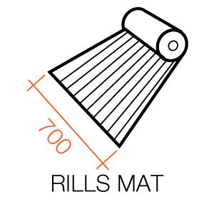 Defender Rills Mat