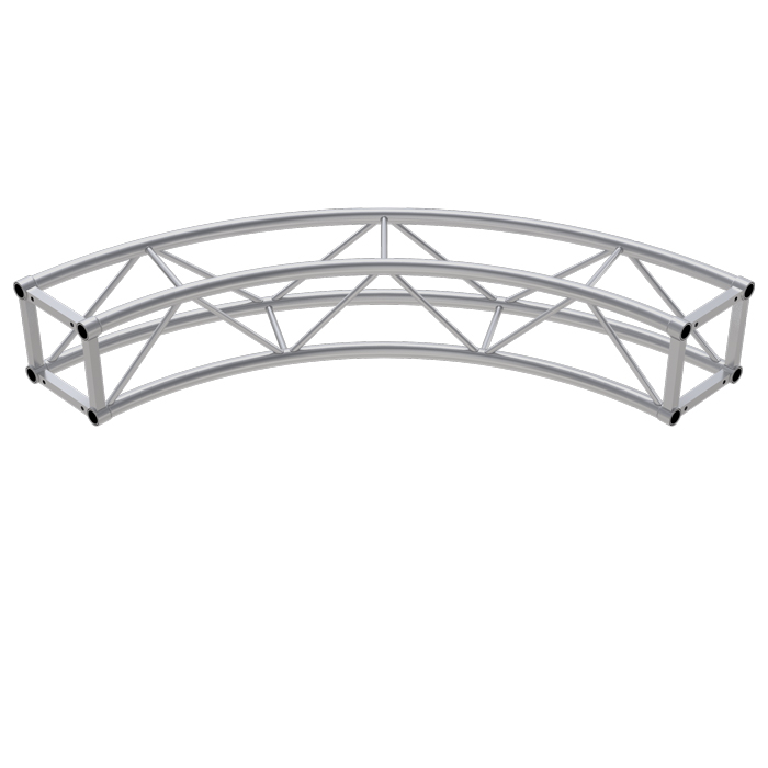 A34 Square 1 5mR (3 0mØ) 90° Radial Truss (including bolts