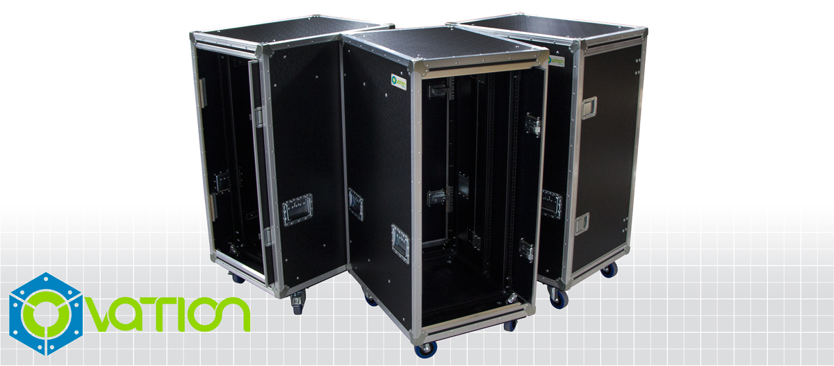 """Featured image for """"Custom Built Anti-Vibration Rack Mount Case with Slide-away doors"""""""