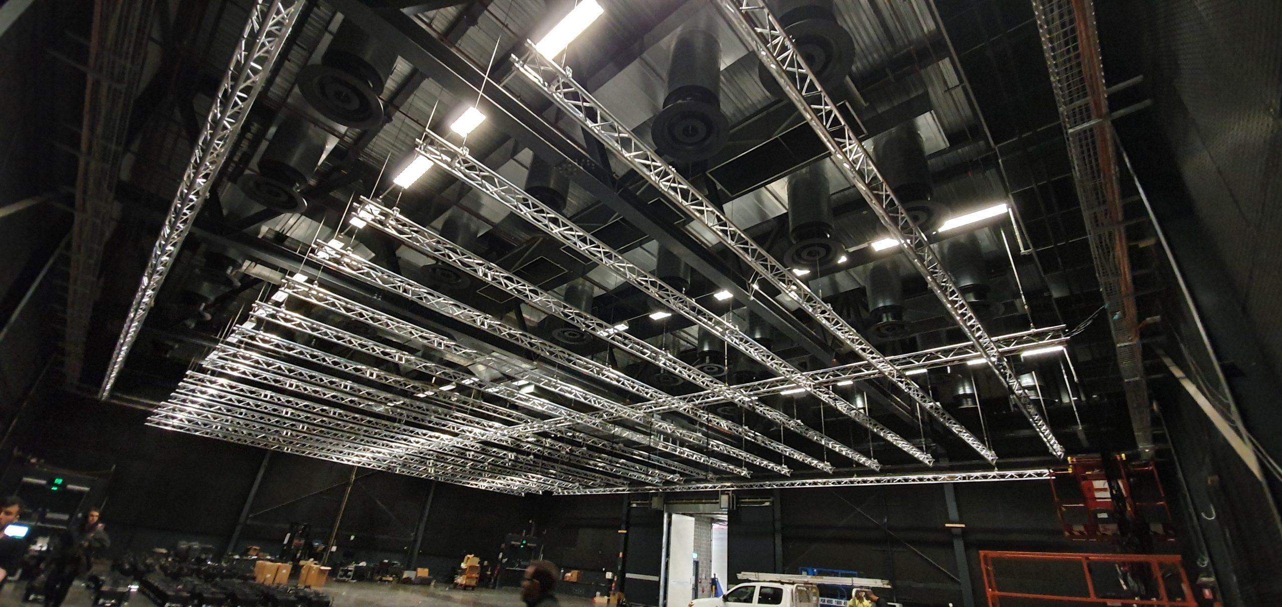 "Featured image for ""Fusion Entertainment Australia riseto installGlobal Truss grid at NEP Studios"""
