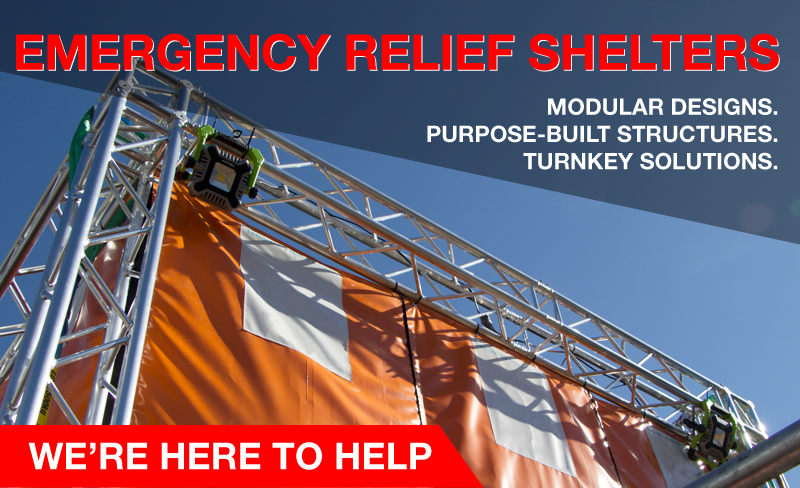 """Featured image for """"TEMPORARY EMERGENCY RELIEF SHELTERS"""""""
