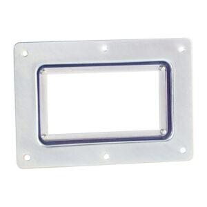 Adam Hall Bar Code Scanning Window 166mmW x 114mmH - Galvanised Steel/Clear Acrylic
