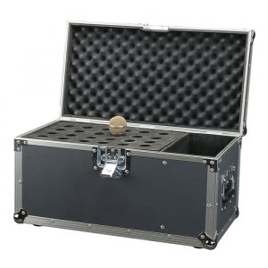 Upright Style 24 Microphone Carry Case - Black