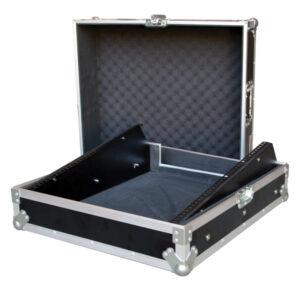 "Generic 12RU 19"" Rack Mount Mixer Case - Black"