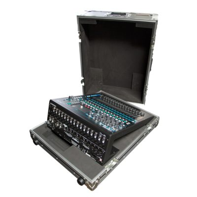 A&H QU-16 Mixer Case with Special CNC Foam Fit-out