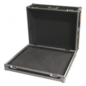 Mixer Case with Recessed Castors; Internal Width 900mm; excluding Foam Fit-out - Black
