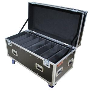 8 Unit Dual Nitec Blinder II Road Case - Black