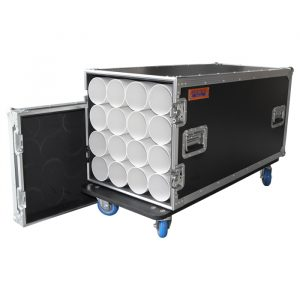 16 Unit Microphone Stand Road Case