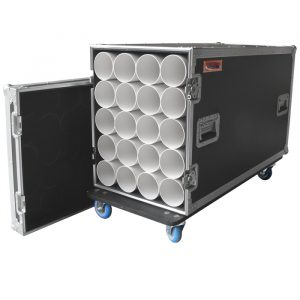 20 Unit Microphone Stand Road Case