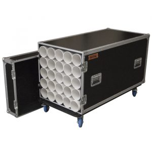 25 Unit Microphone Stand Road Case