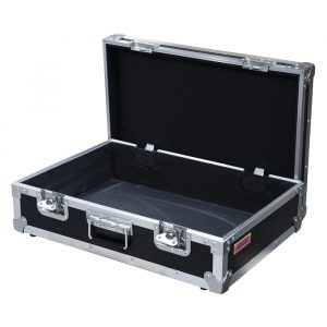 Heavy Duty Briefcase 640mmL x 450mmD x 210mmH with Easy-Cut Foam Inserts; Removable Lid - Black