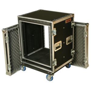 12RU Anti-Shock Rack Mount Case; 625mmD