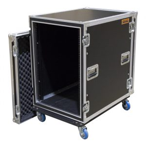 16RU Anti-Shock Rack Mount Case; 625mmD