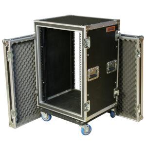 16RU Anti-Shock Rack Mount Case