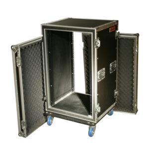 18RU Anti-Shock Rack Mount Case; 625mmD