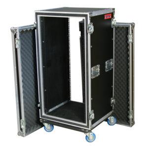 22RU Anti-Shock Rack Mount Case