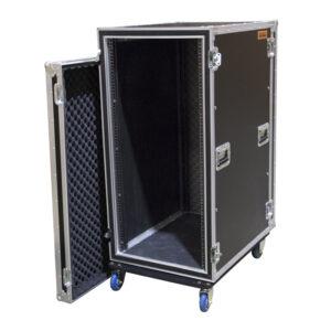 24RU Anti-Shock Rack Mount Case; 750mmD