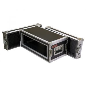 3RU Anti-Shock Rack Mount Case; 300mmD
