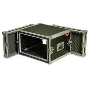 6RU Anti-Shock Rack Mount Case; 300mmD