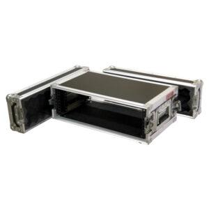 3RU Standard Mount Rack Case; 200mm Deep