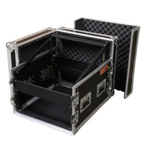 6RU Combo Rack Mount Case;12RU Top