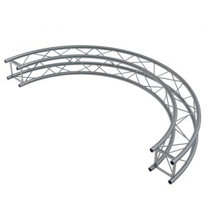 F24 0.5mR (1.0mØ) 90° Radial Truss (4 parts to a Circle)