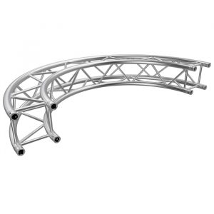 F34 Square 0.5mR (1.0mØ) 180° Radial Truss (2 parts to a Circle)