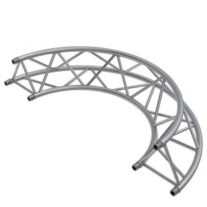 F43P Tri 1.5mR (3.0mØ) 180° Radial Truss (2 parts to a Circle)