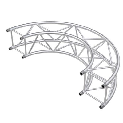 F44P Square 1.0mR (2.0mØ) 90° Radial Truss (4 parts to a Circle)