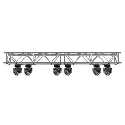F45 5-Chord Square 3.0m Linear Truss with Spigots, Pins & R-Clips