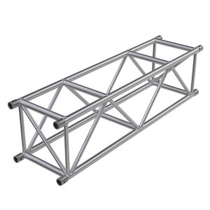 F54 Square 0.5m Linear Truss with Spigots, Pins & R-Clips