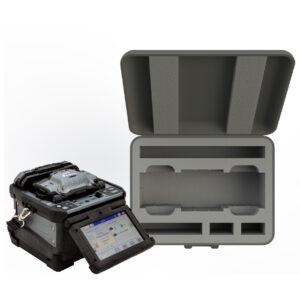 Custom CNC Fujikura 90S Core Alignment Fusion Splicer Equipment insert into Sub Case