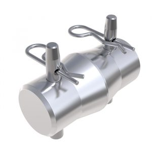 F22-24 Truss Conical Spigot with Pins & R-Clips