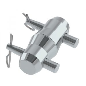 F32-34; F42-44 Truss Conical Spigot with Pins & R-Clips