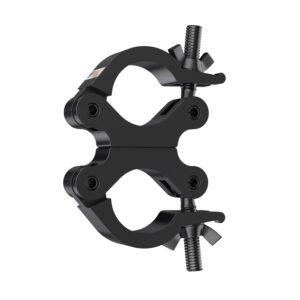 50mmØ Heavy Duty (500kg) Swivel Coupler - Black