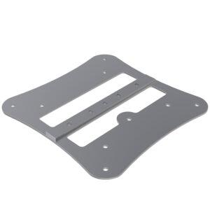 F33-44 MAC Adaptor Plate including Base Plate Half-Spigots, Pins & R-Clips