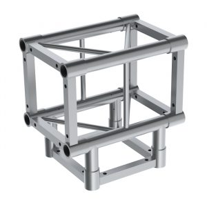 A34 Square Truss 3 Way T-Junction (including bolts & spigots sets)