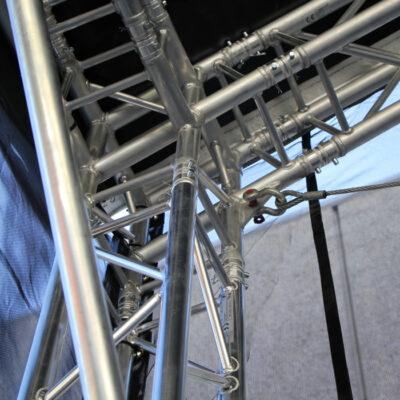 F34P 8.5m x 6.5m Arc Roof