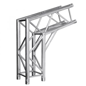 F34P Reinforced 108° 800mmL Hoecker Roof Pitch Leg Corner with Spigots, Pins & R-Clips