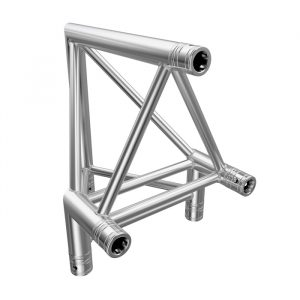 F43P Tri Truss 90° Vertical Corner (Apex Outside) with Spigots, Pins & R-Clips