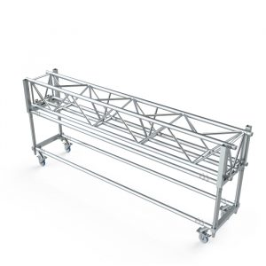 F45 5-Chord Truss Dolly for 1.0m Linear Truss Complete