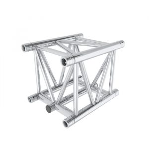 F45 5-Chord Square 0.5m Linear Truss with Spigots, Pins & R-Clips