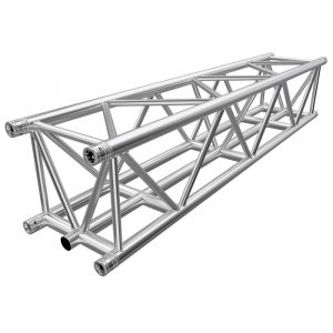 F45 5-Chord Square 2.0m Linear Truss with Spigots, Pins & R-Clips