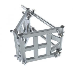 F54 Square Truss Variable Hinged Junction with Half-Spgots, Pins & R-Clips