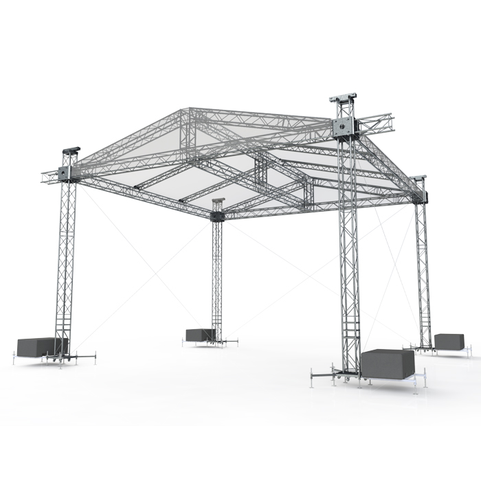 Global Truss Ground Support System