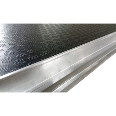 GT 1.0m x 0.5m Birch Ply Stage Platform with Black Embossed Phenolic Resin Impregnated Veneer