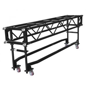 PR64 1.22m (4') Pre-Rig Linear Truss with Dolly including Pins & Clips - Black