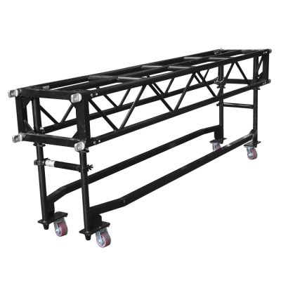 PR64 2.44m (8') Pre-Rig Linear Truss with Dolly including Pins & Clips - Black