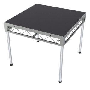 1.2m x 1.2m Stage Platform with 0.9m Legs - Carpet Top