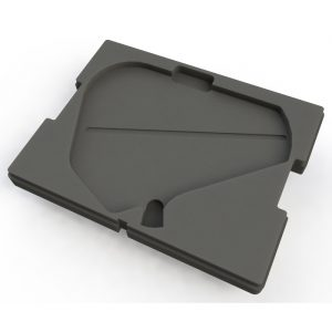 Foam Insert for a Shure PA805SWB Paddle as the top tray in a Sub Case SU S440-3412 or SU S440-3418